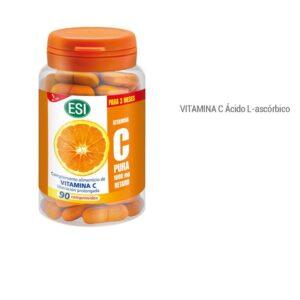Vitamina C Pura Retard ESI 90 Comprimidos Imagen de Producto