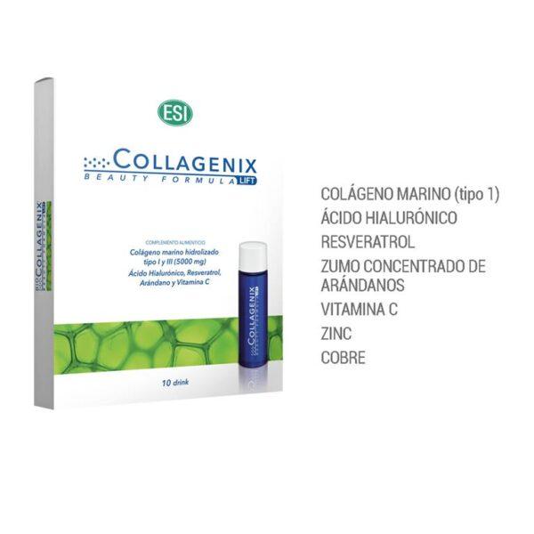 collagenix lift 10 viales de 30 ml.