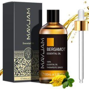 Aceite Esencial de Bergamota Puro Aromaterapia Mayjam