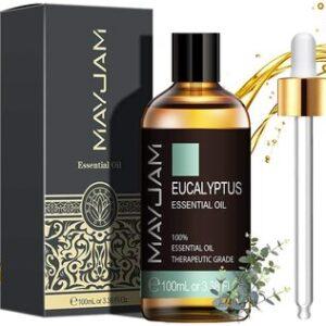 Aceite Esencial de Eucalipto Puro Aromaterapia Mayjam