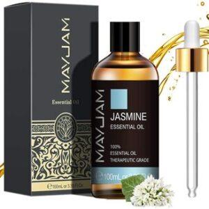 Aceite Esencial de Jazmín Puro Aromaterapia Mayjam