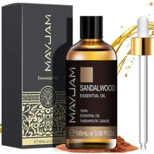 Aceite Esencial de Sándalo Puro Aromaterapia Mayjam