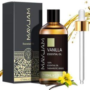 Aceite Esencial de Vainilla Puro Aromaterapia Mayjam
