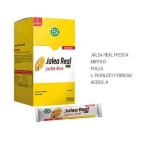 Complejo de Jalea Real, Polen, Vitamina C y Hierro
