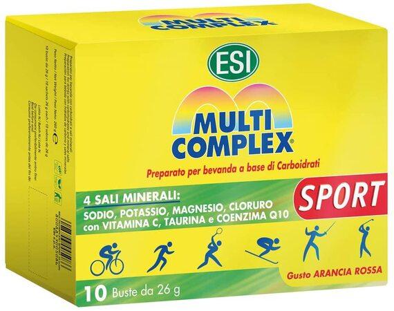 Complemento Hidrosalino para Deportistas Multicomplex Sport (10 sobres)