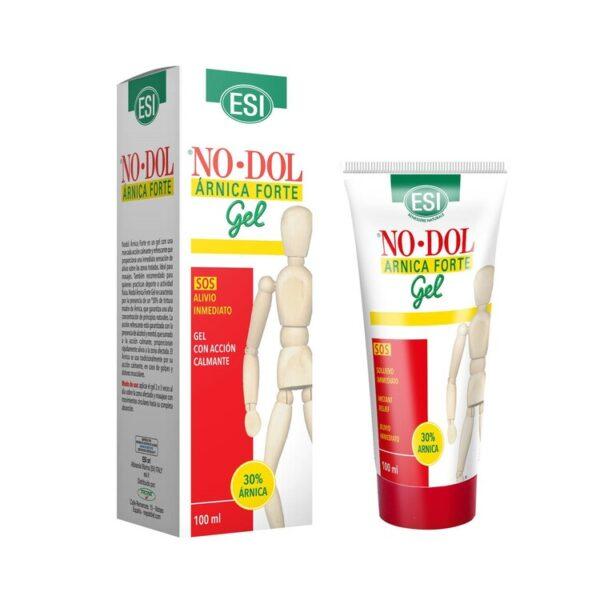 NODOL Árnica Forte Gel ESI. Gel para masajes, gel antiinflamatorio, analgésico y que favorece la circulación