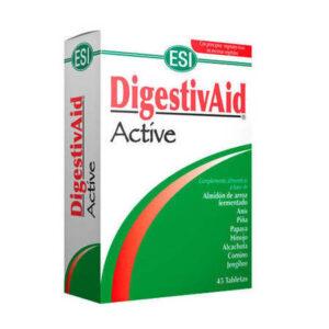Suplemento vegetal para la digesti贸n Digestivaid Active ESI. Ayuda a hacer la digesti贸n. Ayuda contra malas digestiones