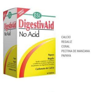 Anti谩cido Natural, Reflujo y Ardores Digestivaid ESI (60 comp.)