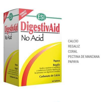 Antiácido Natural, Reflujo y Ardores Digestivaid ESI (60 comp.)